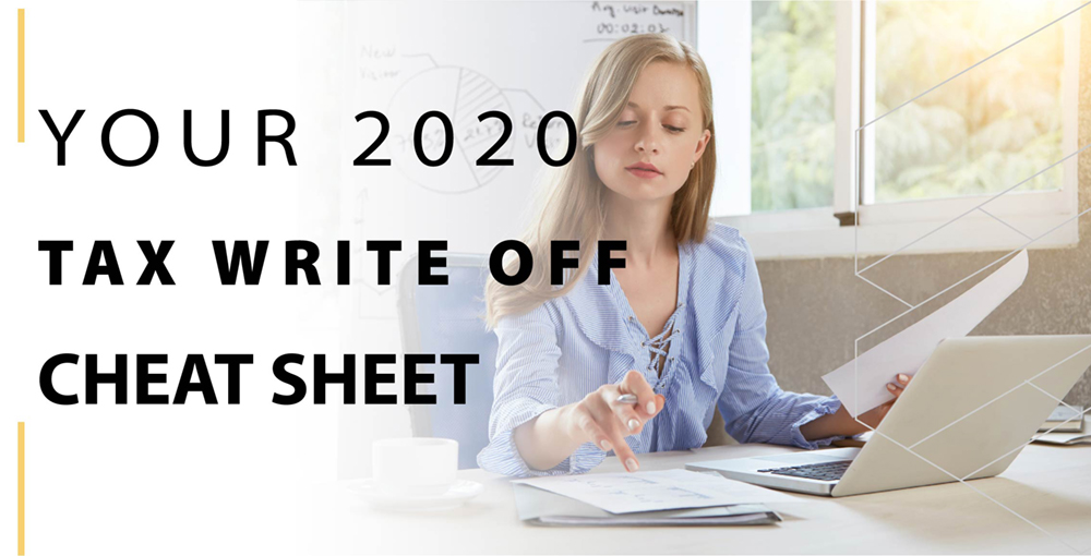 Your 2020 tax write-off cheat sheet